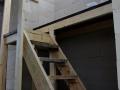 Provisorische Treppe ins Gästezimmer - bleibt bestimmt bis zum Einzug