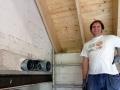 Ventilationsrohre von der Kueche Richtung Garage