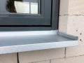 Fensterbank aussen - ebenfalls Aluzink