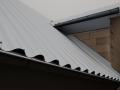 Anschlussdetail Dachgaube