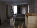 Blick ueber Vorratskammer und 2. Bad - rechts die 3. Holzrestesammelkiste