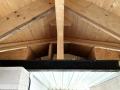 Tunnel fuer die Ventilation zwischen Durchgang und Haus